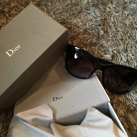eacc5f5c6a Genuine Christian Dior sunglasses. Comes with 2 boxes cloth - Depop