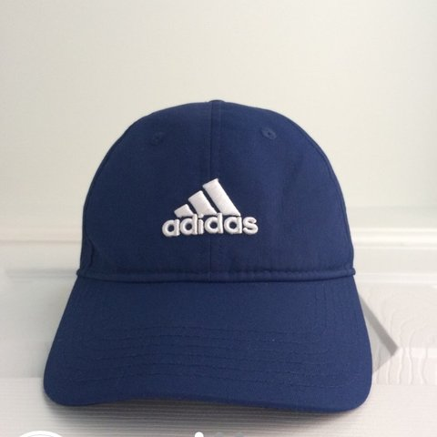 ac6498d43f2 Must go! Dark blue Adidas cap. Great condition. Adidas logo - Depop