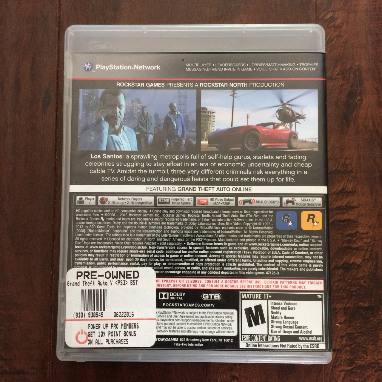 Grand Theft Auto V for PS3  Comes with big map    - Depop