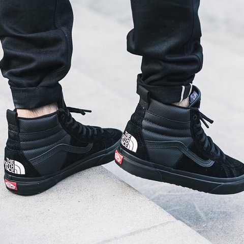 a273abc4b77 Vans X The North Face Sk8 Hi 46 MTE The much anticipated X - Depop