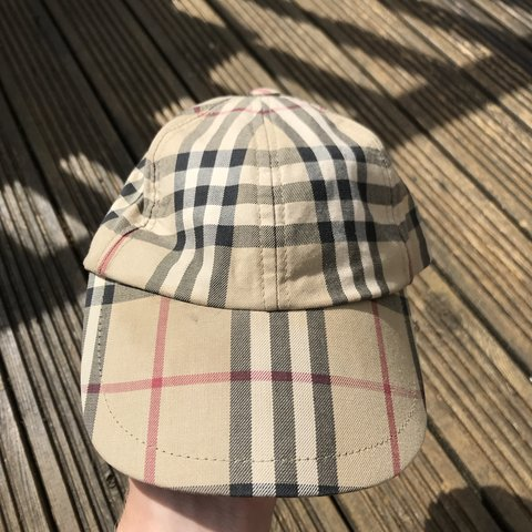 f2fd19e24ea BURBERRY LONDON NOVA CHECK CAP🔥🔥 - GREAT CONDITION - ONE - Depop