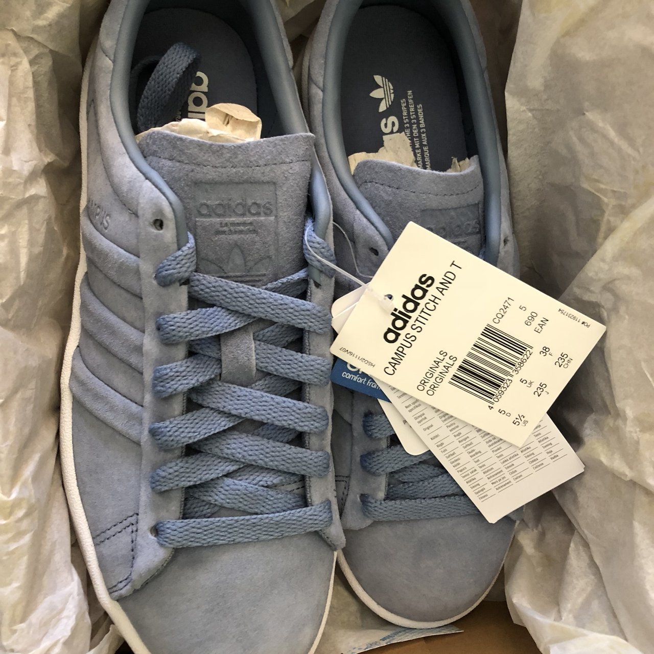 Ladies designer trainers 100% genuine New boxed with tags 5 - Depop e46a07be3