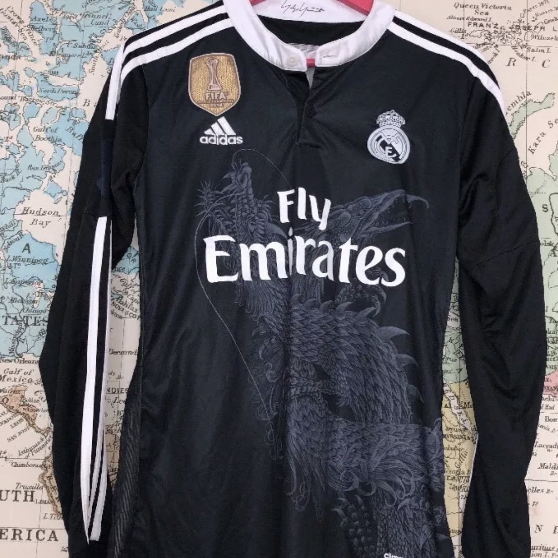uk availability 2d612 43c7e VINTAGE RETRO FOOTBALL SHIRT JERSEY ⚽️👕 REAL MADRID ...