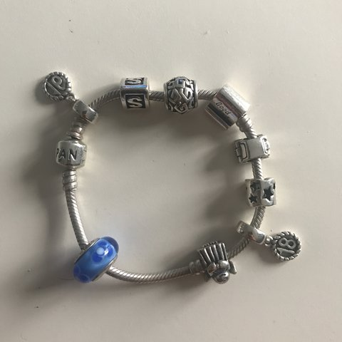 45efdeeb5 @sophiedaves. 2 years ago. Brentwood, United Kingdom. Pandora bracelet with  9 charms Happy to sell charms separately.