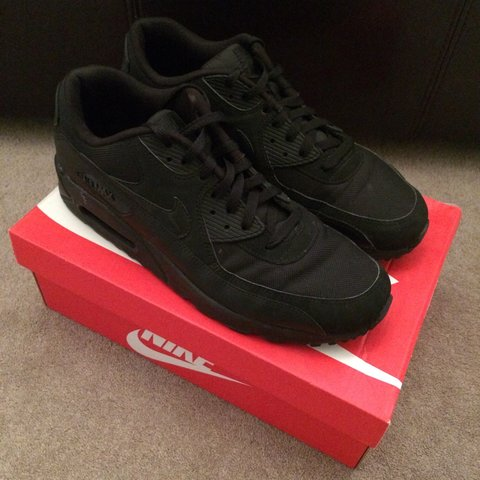 9b5e2dfe8f @conorlewiswyatt. 3 years ago. Worcester Park, Greater London, UK. Mens  Nike Air Max 90 Black.