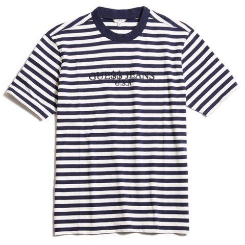 acb8c2faa65d @orland0_h1ll. 2 years ago. Suffolk, UK. Guess x asap rocky striped tee -  navy and white - size ...