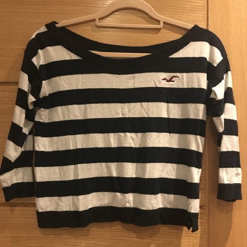 99f8befeb4370 STRIPED JUMPER SIZE XS (depending on whether loose or tight - Depop