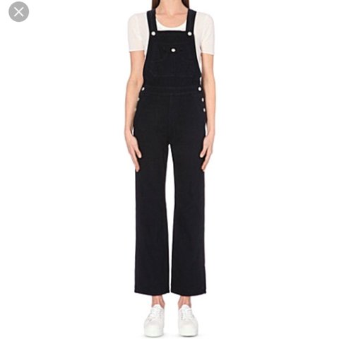 f7672d0ef57 Still selling! Alexa Chung for AG Tennessee overalls from , - Depop