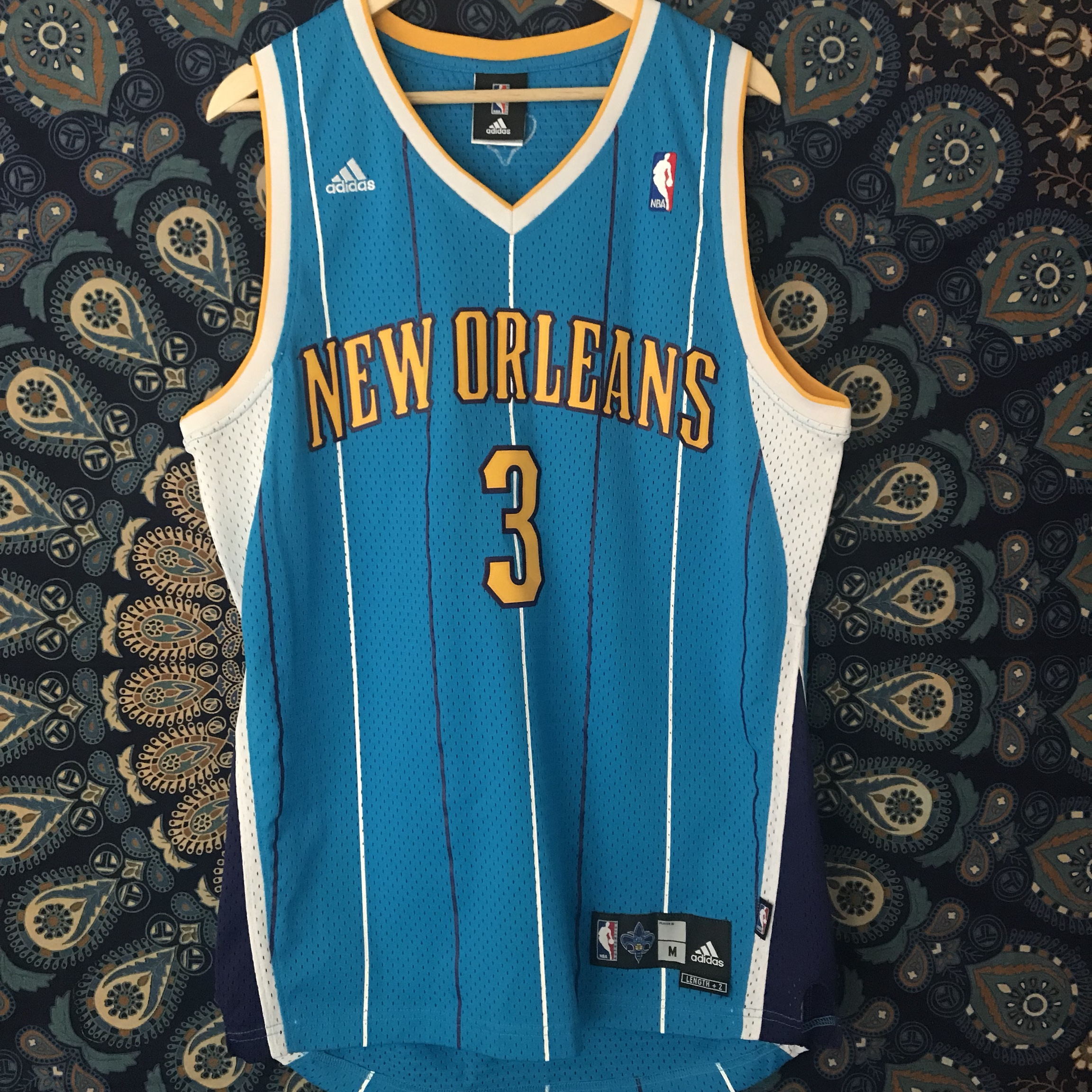 new arrival 66695 4ee2d Chris Paul New Orleans hornets jersey. Super cool... - Depop