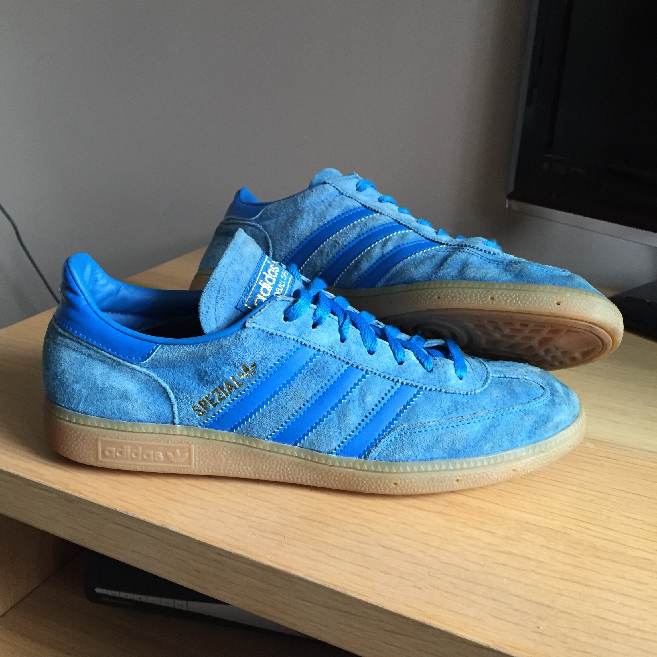 wholesale online 2018 sneakers no sale tax ADIDAS SPEZIAL BLUE/GUM UK10 - 8/10 CONDITION - DM ...