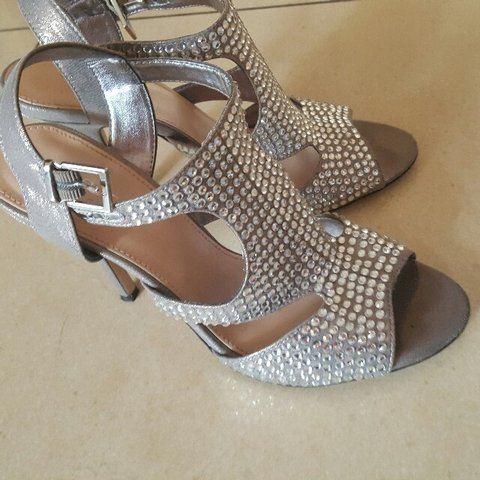 bc3793933d @ainecarroll1111. 3 years ago. Carvela silver sandals vgc size 5. I paid  160 worn once