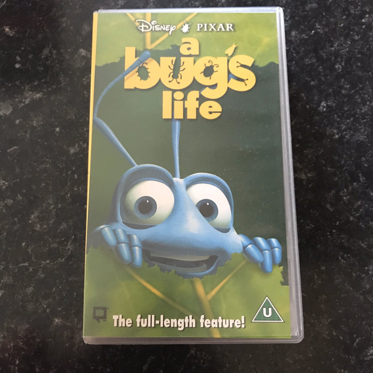 Disney Pixar A Bugs Life Vhs Video Tape Perfect Depop
