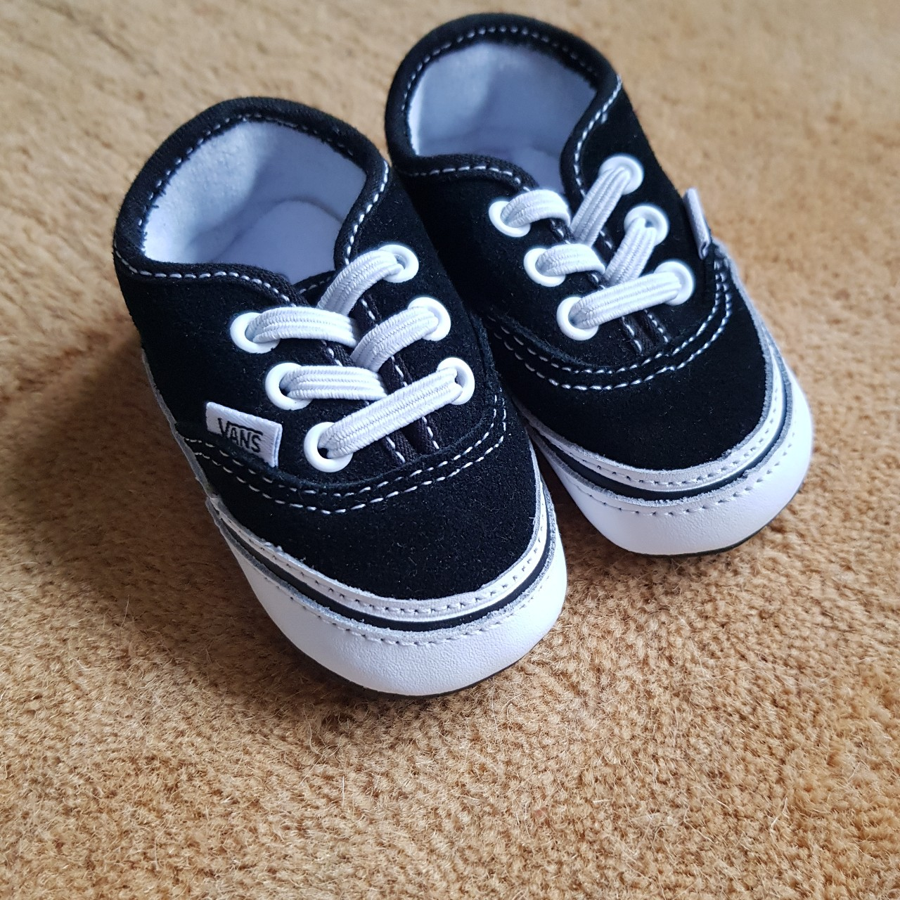 Infant/baby vans size 2 Black with