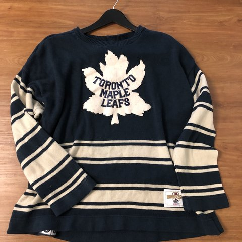 c4420bfa9 @acevintage. 11 months ago. Lake Forest, United States. Vintage CCM Toronto  Maple Leafs Knit Sweater One of my vintage grails