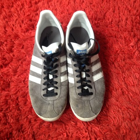 1a3c60d6c9d Adidas originals gazelle in grey and white