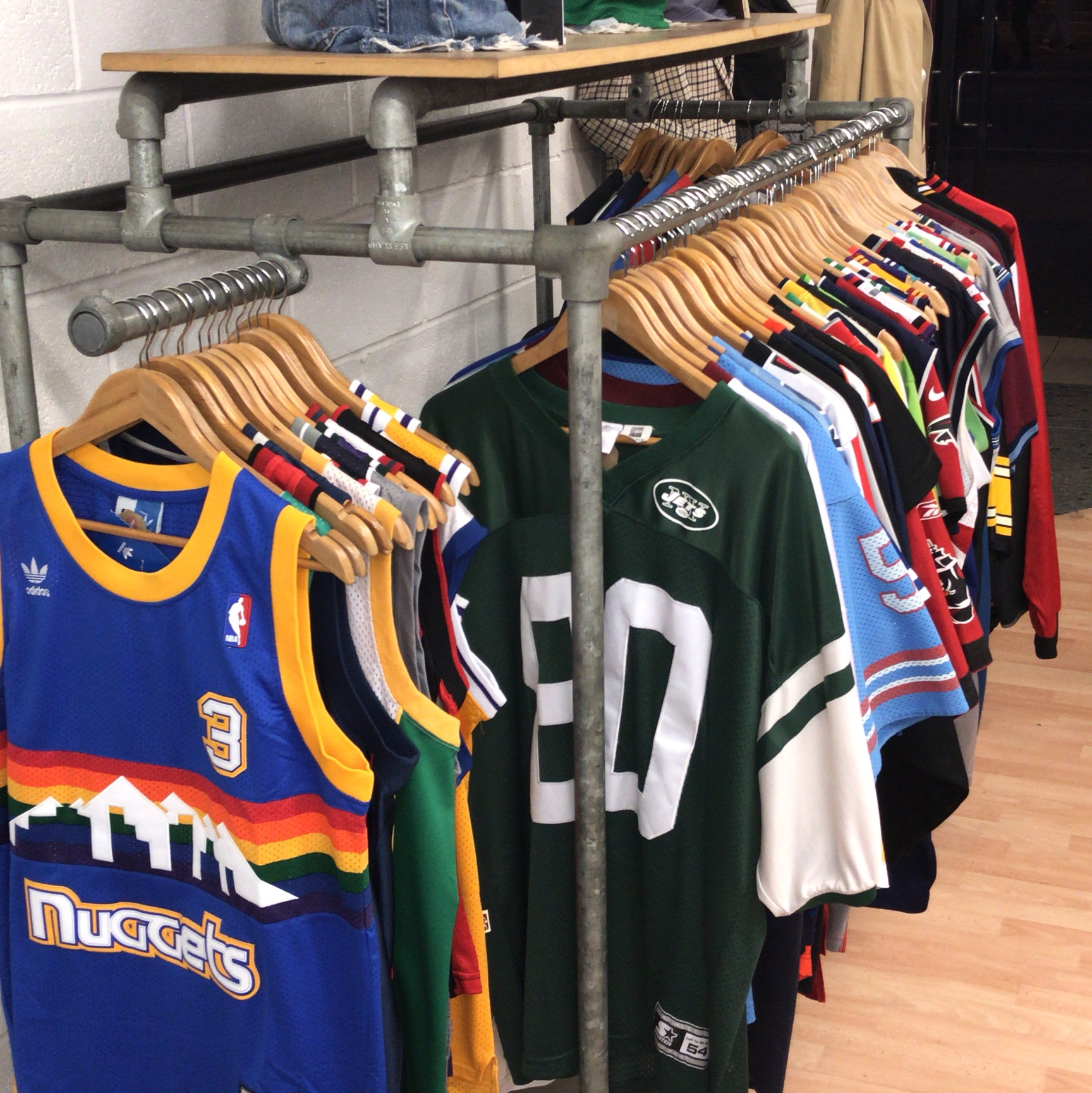 Lots of American sports jerseys being added over the...