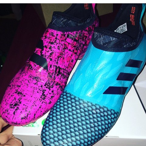 376483b8a Adidas glitch starter pack Pink skin is brand new Blue and - Depop
