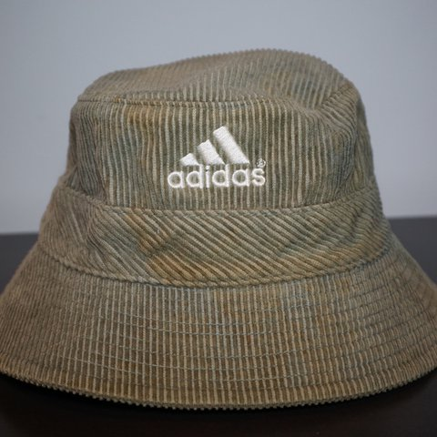 0e4c28cf893 Vintage adidas Corduroy Bucket hat. Size Small medium. Shows - Depop