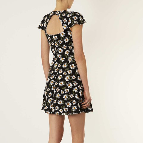 2ccbb643d0 Topshop daisy open back tea dress. Worn