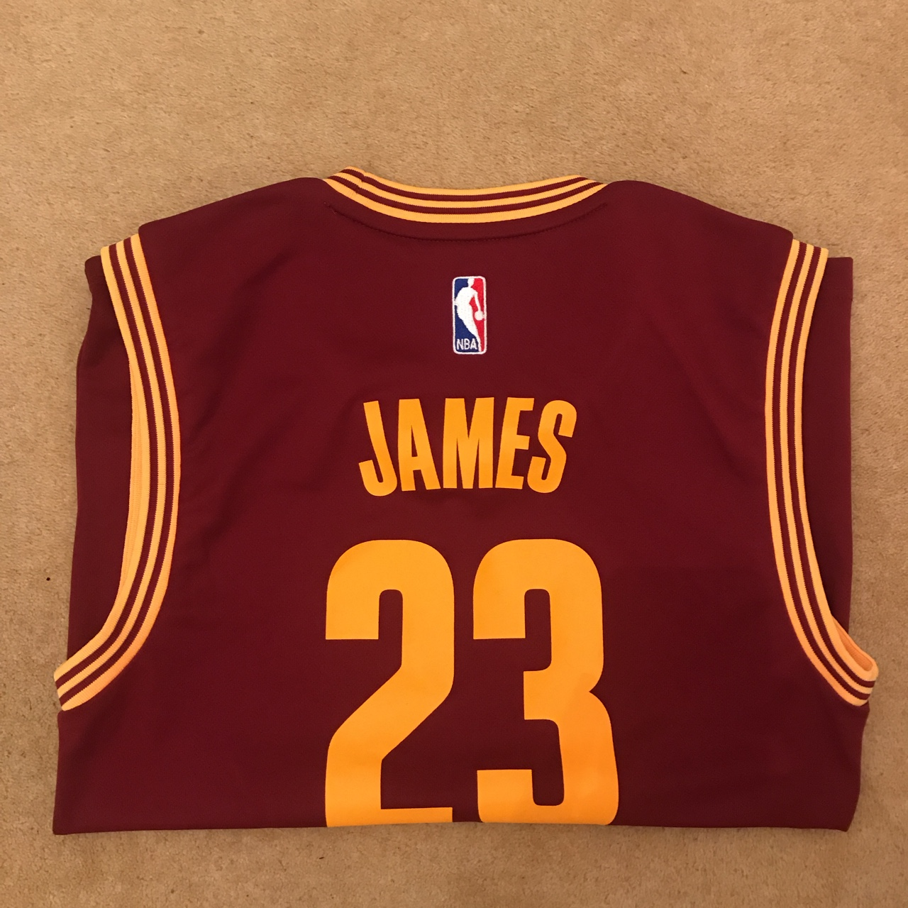 reputable site 65d2a ca172 Lebron James Cleveland cavaliers jersey Number... - Depop