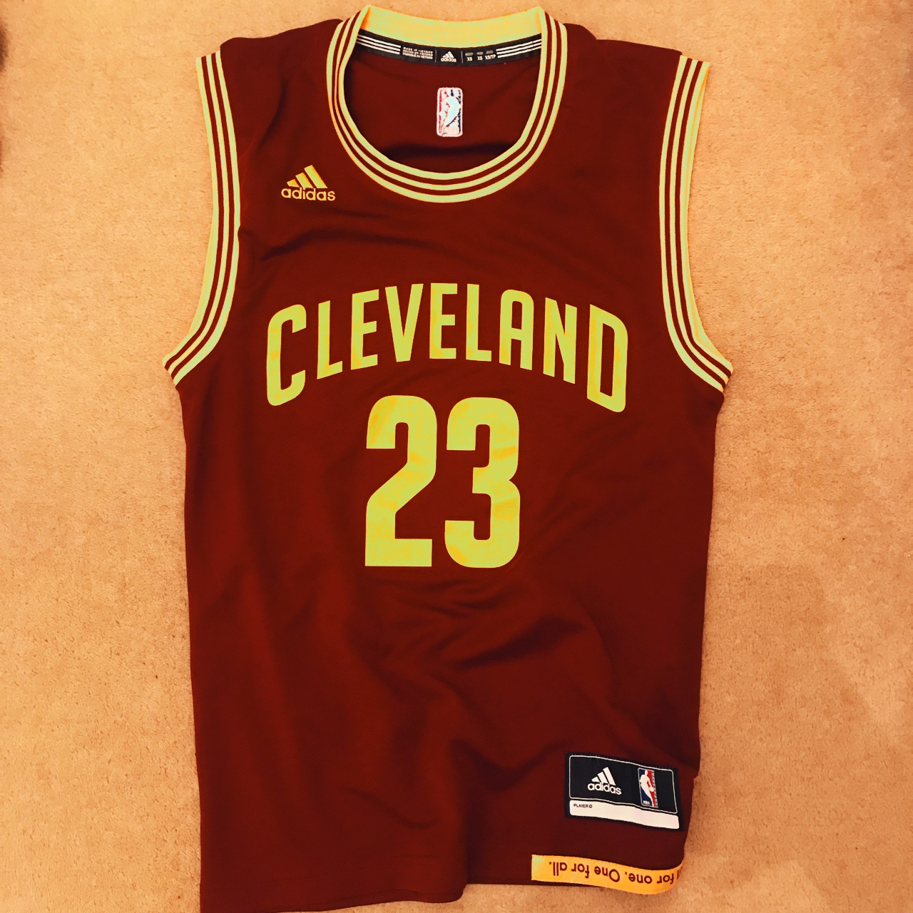 reputable site aa5c5 48c46 Lebron James Cleveland cavaliers jersey Number... - Depop