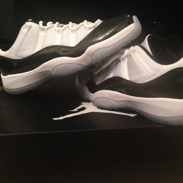022e254229788a Nike Jordan XI  Concord Low  (11) UK 8.5   9 Sold Out Comes - Depop