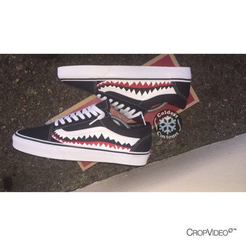 d4f9b34551fbfb Bape X Vans Custom. This Item Is Ready To Order Can Also Any - Depop