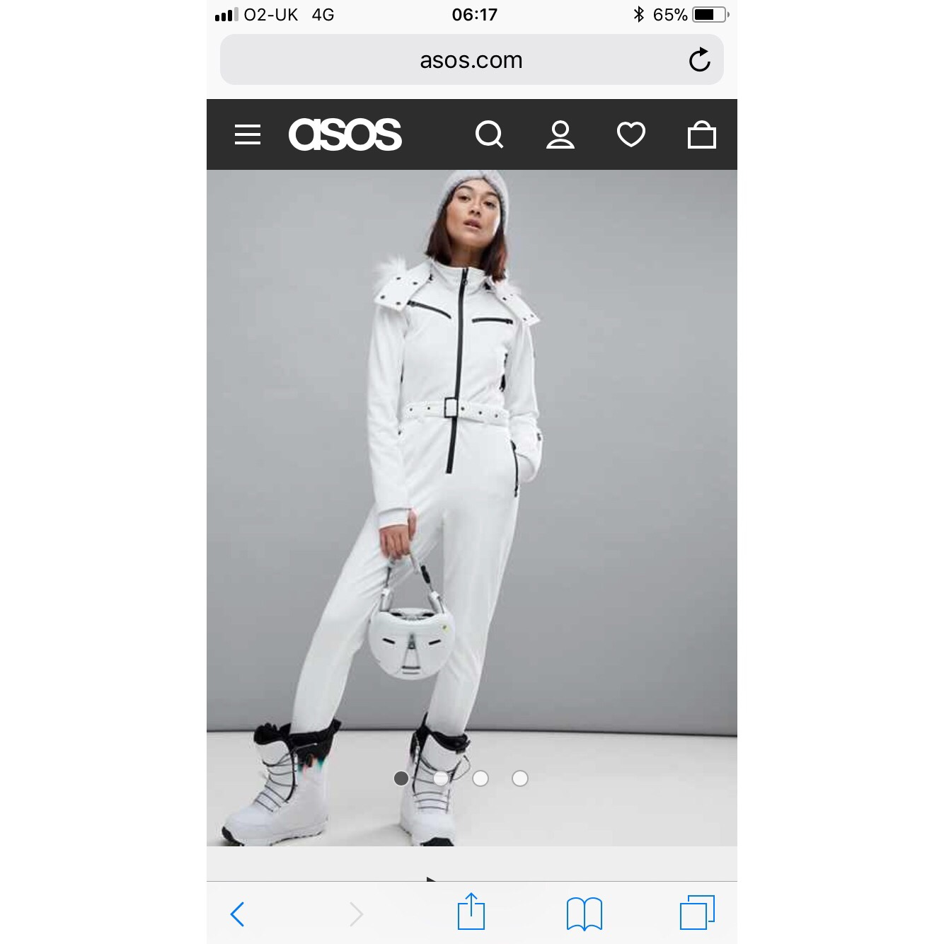 2b071985c13 Selling sold out ASOS ski suit size 12. Ignore... - Depop
