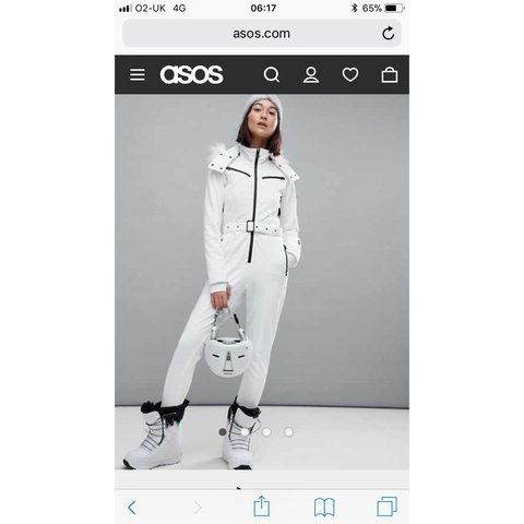 33db94cc9056 Selling sold out ASOS ski suit size 12. Ignore topshop sno a - Depop