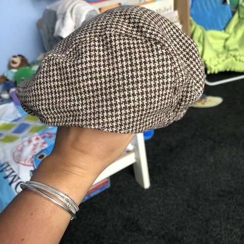 cd75ff87417a7  amy blondie95. last year. United Kingdom. J by Jasper Conran - Designer  babies brown tweed flat cap