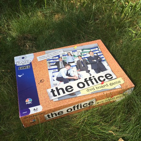 the office dvd board game the office trivia game adults depop