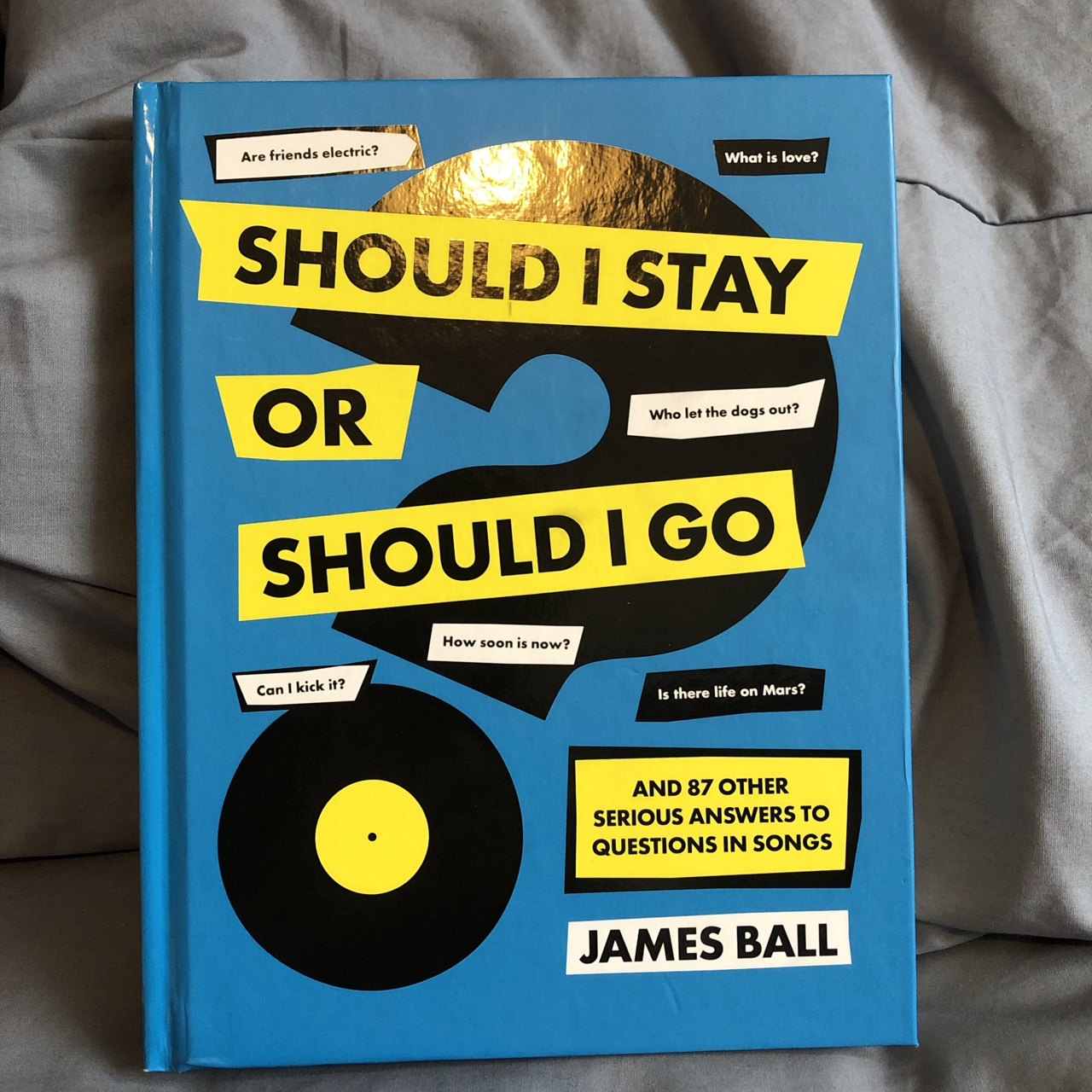 SHOULD I STAY OR SHOULD I GO' by James Ball Funny    - Depop