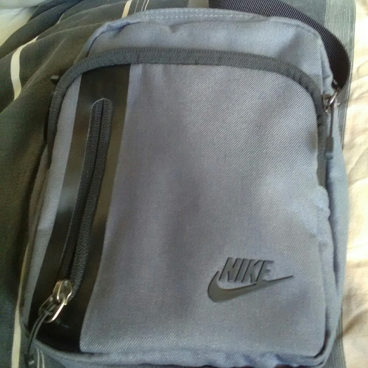 Nike man shoulder bag for sale. Great condition however need - Depop ea56e4a260be