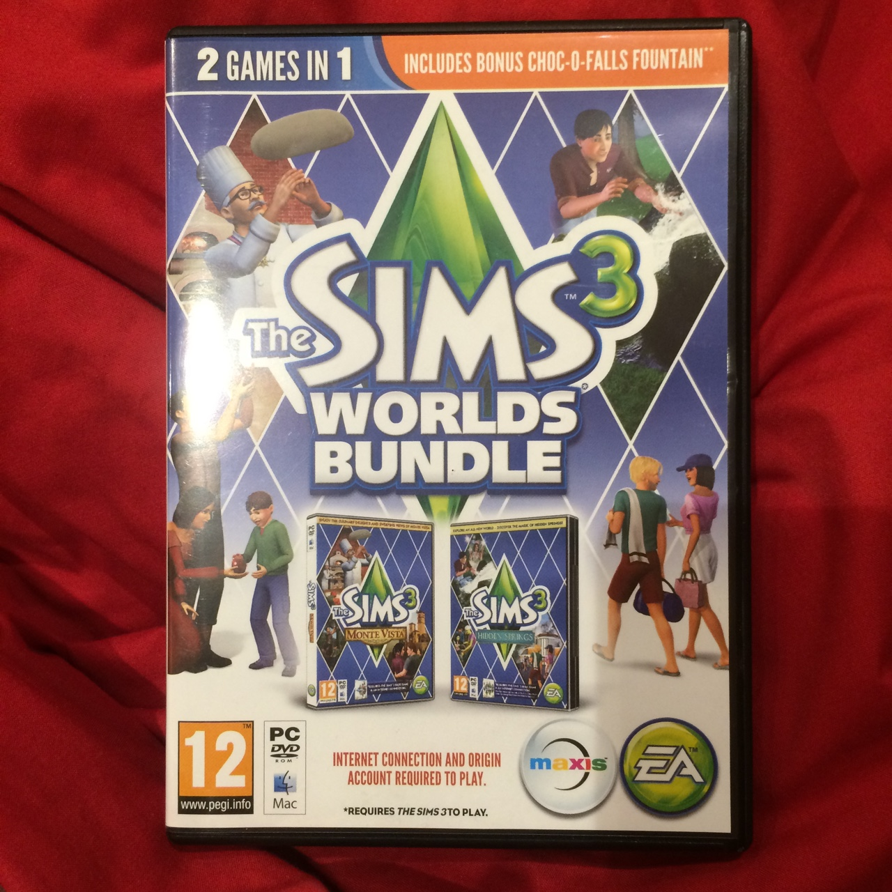 Sims 3 Worlds Bundle  Literally NEVER used  #sims    - Depop