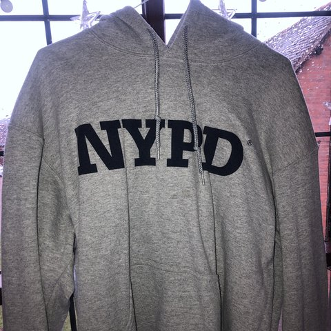0a068c296 @amelia_kite. 5 months ago. Redditch, United Kingdom. NYPD grey hoodie.  Vintage condition.