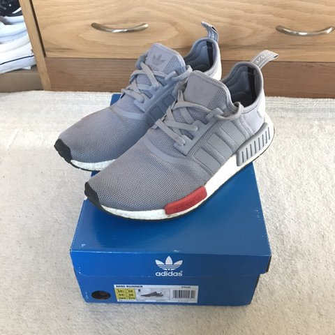 5959964ad62a Adidas NMD R1 Moscow grey Used condition Fast shipping - Depop
