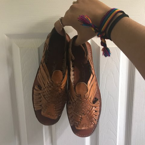 fed8f44cf51b Authentic Mexican Huaraches de Piel made bought in Mexico. - Depop