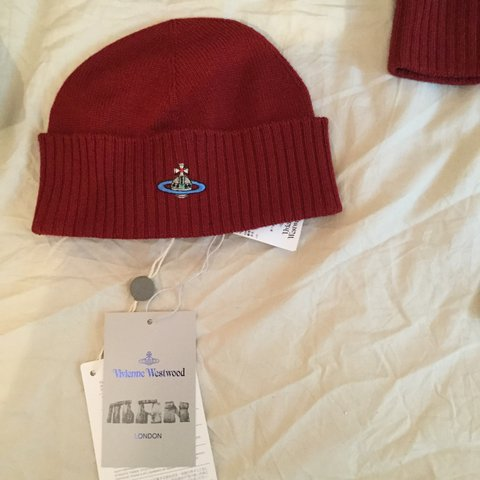 assorteddesigns. 2 years ago. United Kingdom. Vivienne Westwood beanie hat. 46429c6e284