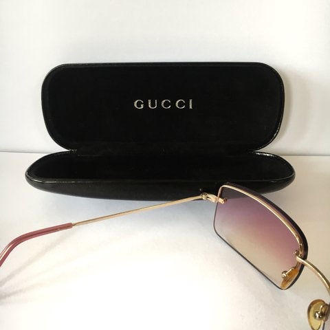 69546d98c0c4e Vintage Gucci Sunglasses • Look steezy this summer whether a - Depop
