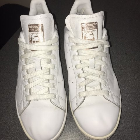free shipping a307a ccaa6  chericce. 4 months ago. South Shields, United Kingdom. Ladies Adidas Stan  Smith Rose Gold Trainers Size 6.5. Good Condition.