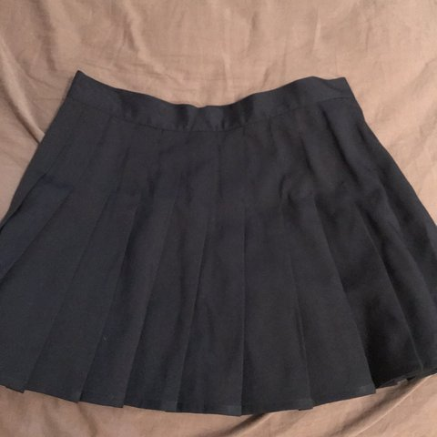 40b97ac90 @citlalli_torres. 4 days ago. Brownsville, United States. navy blue pleated  skirt