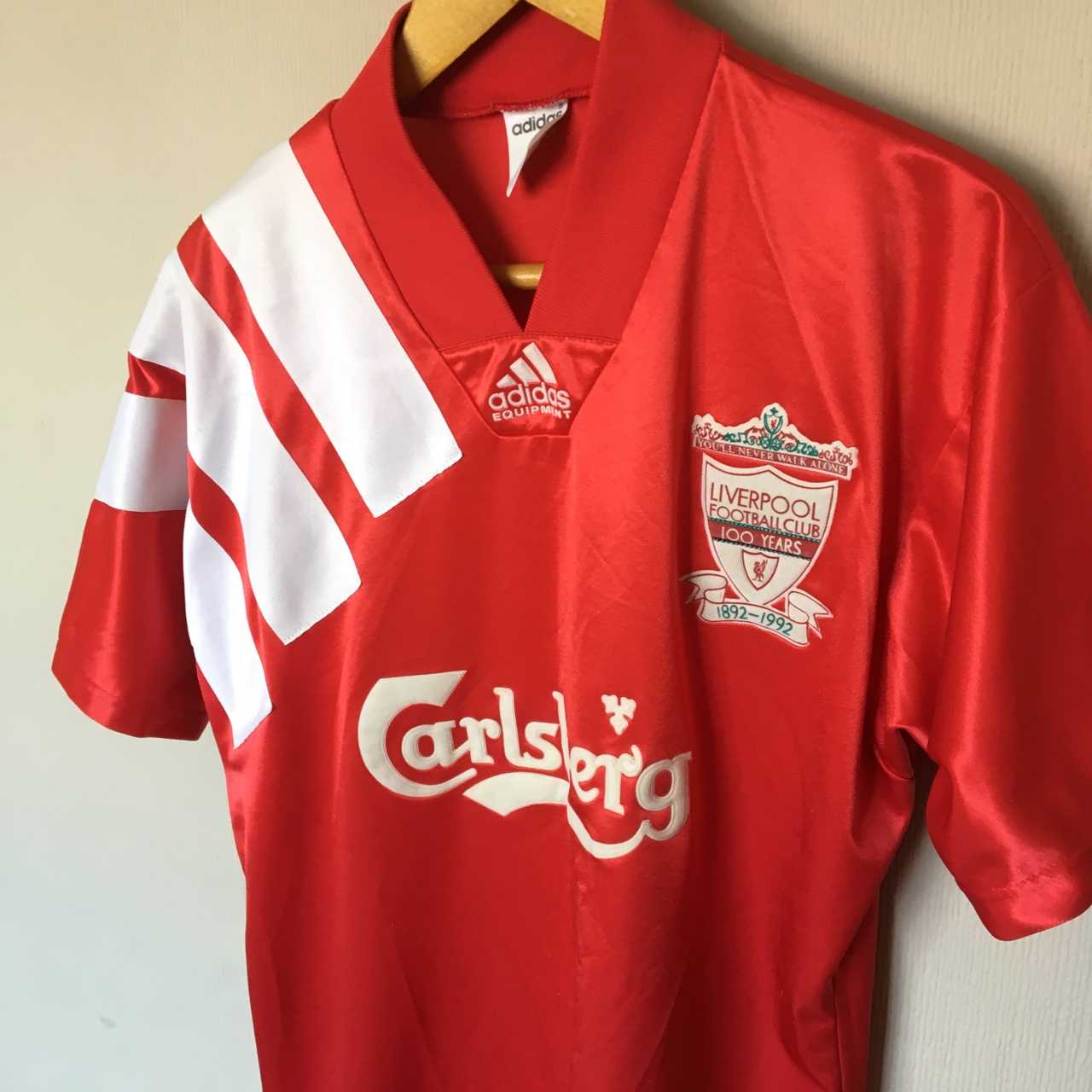 the latest 19643 fd315 Liverpool 1992 Vintage Home Shirt • Condition 8.5/10... - Depop