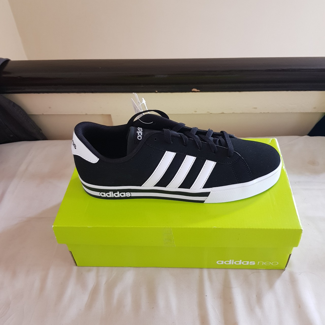 Brand new Adidas Neo trainers in black and white....