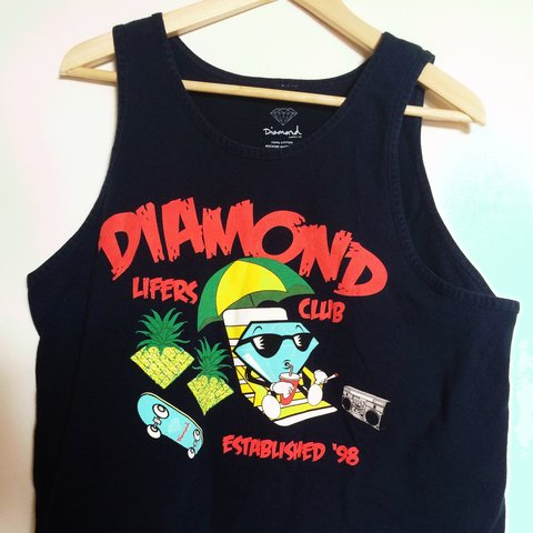 d524d1f7488a6  griffink. 7 days ago. United States. Vintage Diamond Supply Co. tank top.