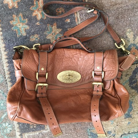 418b8a92880c first edition Authentic Mulberry Alexa bag named for Alexa a - Depop
