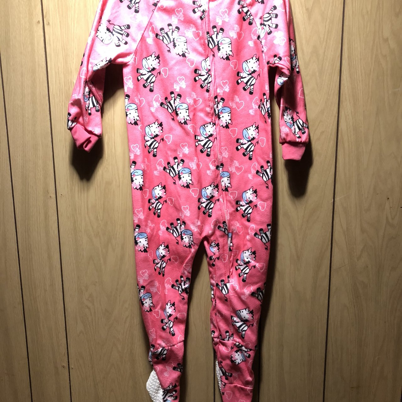 91a48798bb02 Toddler Girls toddler footed pajamas   brand new   size 4T   - Depop