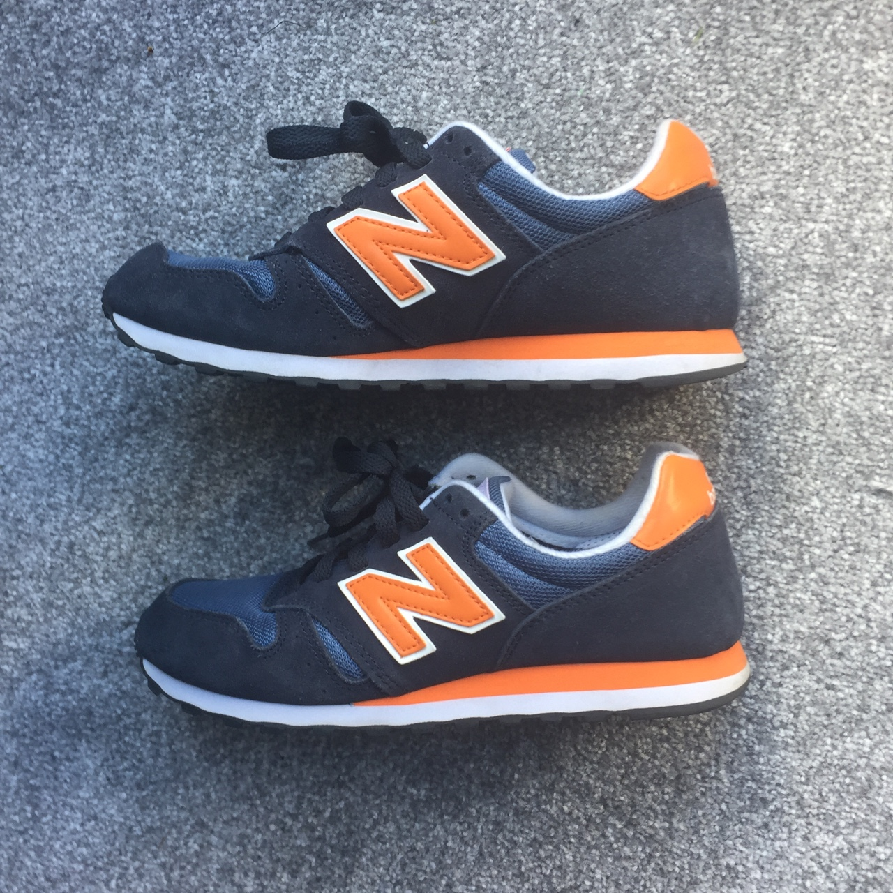 huge selection of e4759 e796d Selling these New Balance 373 Blue and Orange... - Depop