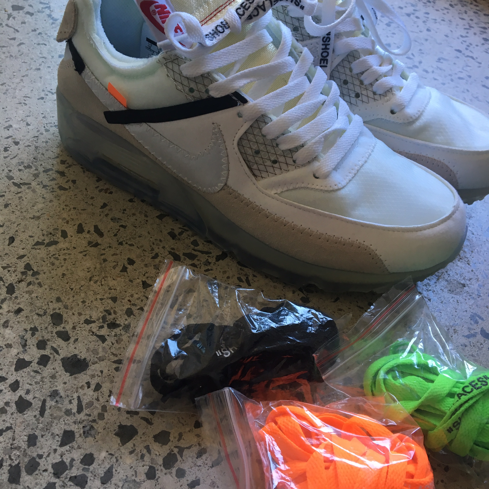 The 10 Nike Air Max 90 Off White Us Size 10 Never Depop