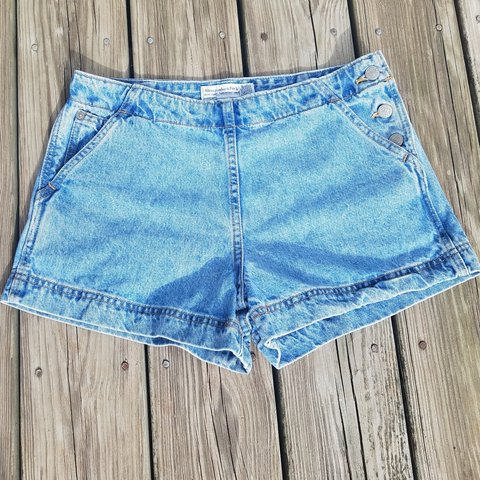 fc78ef566f @generationgapvintage. 2 days ago. Albany, Meigs County, United States. 💙90'S  VINTAGE ABERCROMBIE DENIM SHORTS💙