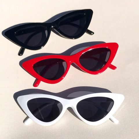 762060a66cc Retro Cateye Sunglasses ~ available in red